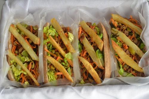 catering lunch vegano / vegetariano x persona.