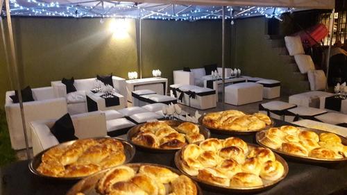 catering - pizza party - barra de tragos - livings - dj
