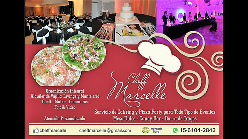 catering, pizza party, lunch, delivery ¨cheff marcelle¨