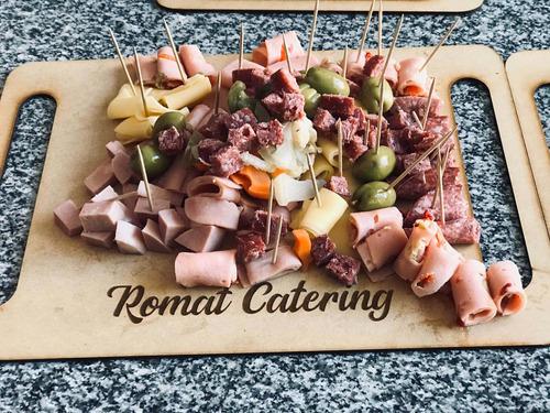 catering & pizza party romat  la plata platos gourmet