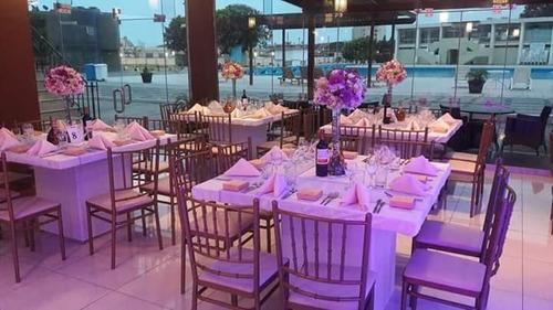 catering sillas mesas toldos buffet bar