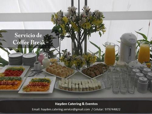 catering y eventos, alquiler de menaje, box lunch
