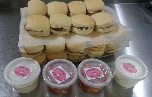 catering y lunch 10, 20, 30, 50 personas, cupcake, tortas