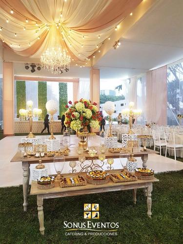 catering y producción toldos decoración en lima