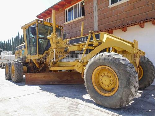 caterpillar 12h 2006 motoconformadora motoniveladora