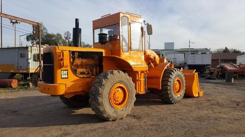 caterpillar 966  pala cargadora frontal - motor nuevo -zacco