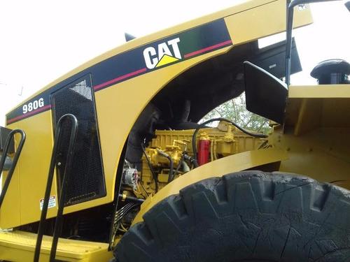 caterpillar 980g cargador payloder cat carga muy bueno