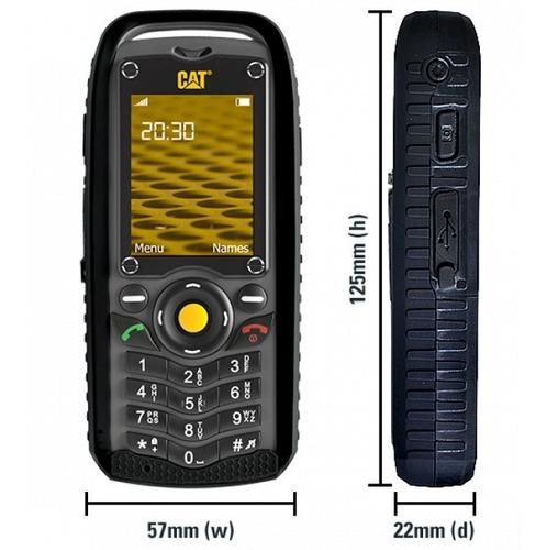 caterpillar b25, cámara, radio,dual sim, homologados!