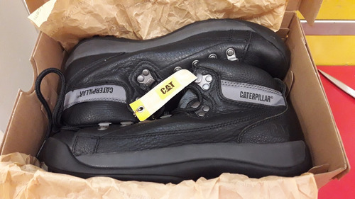 caterpillar botas caminata active alaska confort negro gym