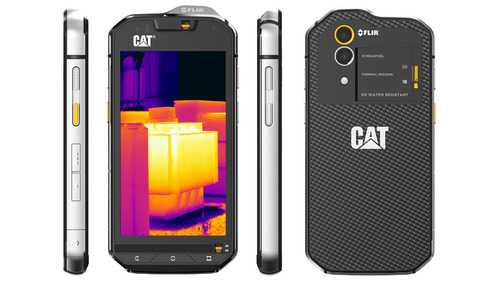 caterpillar cat s60 cámara térmica 1 año de garantia + mica