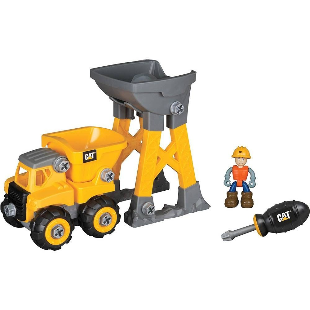 Caterpillar Dtc Junior Operator Work Site Dump Truck Montar
