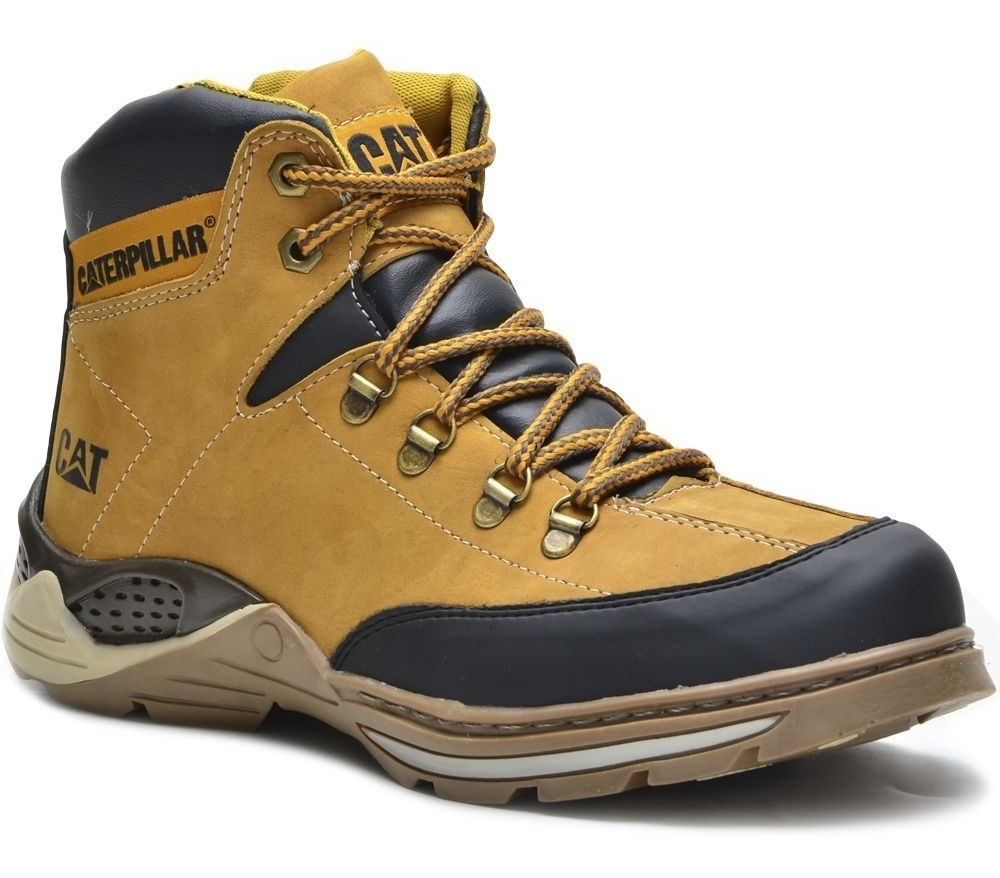Caterpillar Original Bota Masculina Cat 100 Couro Adventure