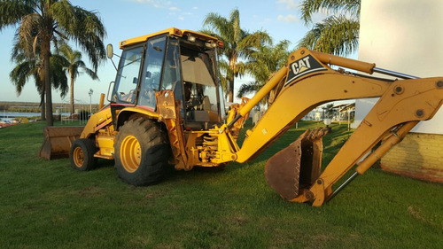 caterpillar retroexcavadora cat 416 c 2001 exelente estado