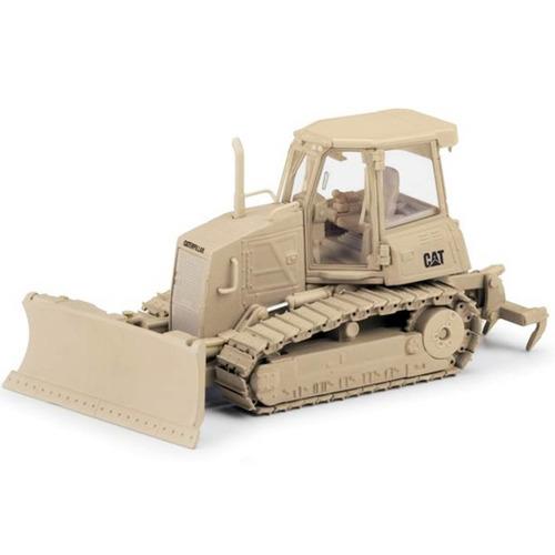 caterpillar trator esteira d6k militar 1:50 norscot - 55253