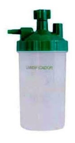 cateter nasal adulto e copo umidificador 400ml para oxigênio