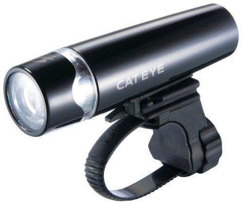 cateye hl-el010 uno led de luz de bicicletas (negro)