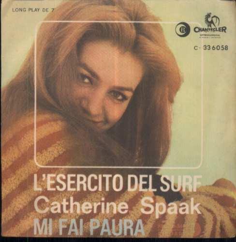 catherine spaak compacto vinil l´esercito del surf 1963 mono