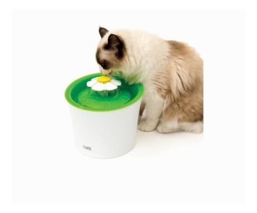 catit fuente de agua flor 3 lt para gato | mundozoo