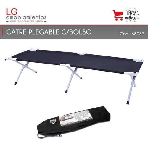 catre cama plegable camping playa c/bolso bestway