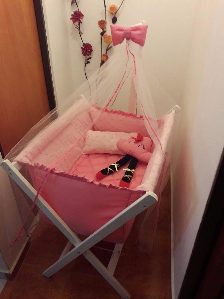Catre Cuna Moisés Para Bebé Con Tul Fabricantes - $ 1.990,00 en ...