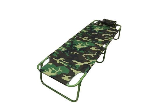 catre para acampar con almohadilla plegable cómodo resistent
