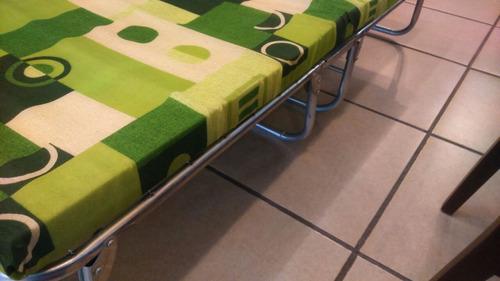 catre plegable de espuma reforzado adulto / niño colchón