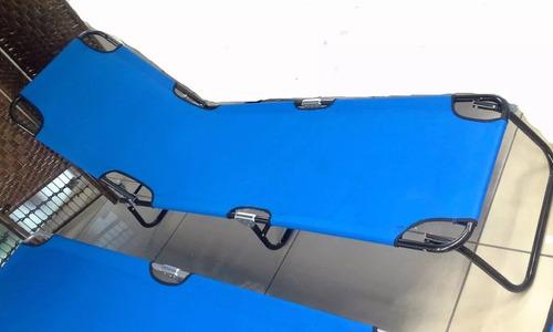 catre plegable reclinable 180x60cm aguanta aprox 130kg