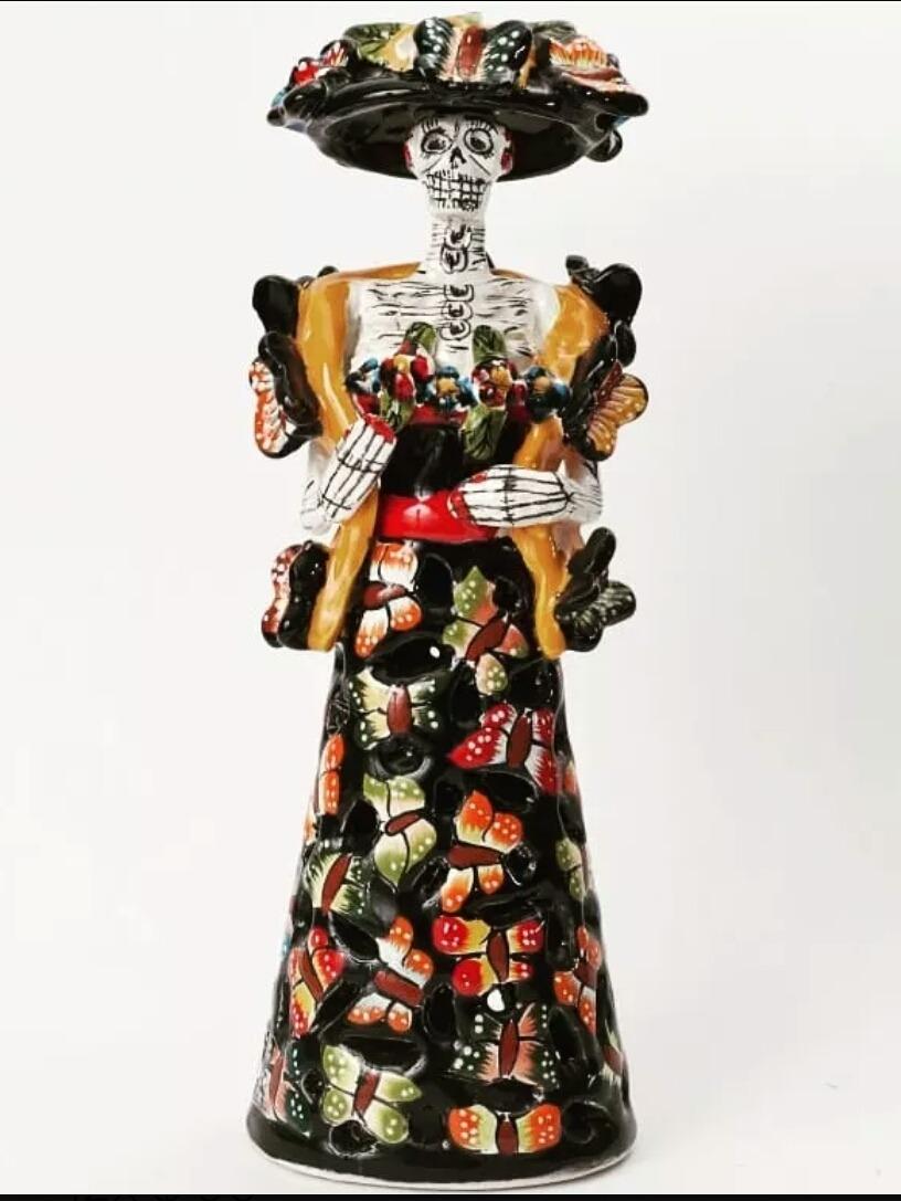 Catrina calada mariposa cerámica talavera artesanía mexicana cargando zoom  jpg 816x1087 Nombres mariposa que es la 1f21d75c8a1