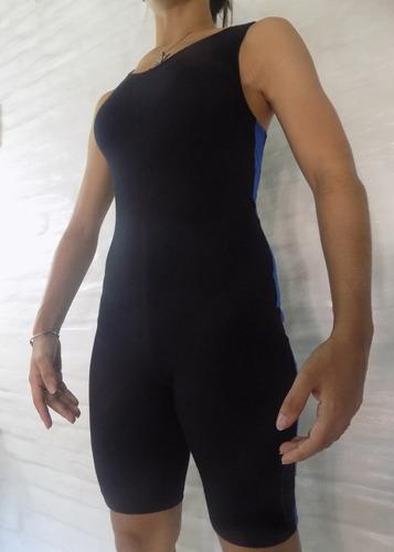 catsuit maya traje lucha libre  en algodon con lycra pesado