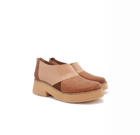 b5769a6ae Catupecu Zapatode Mujer En 100% Cuero Mara Outlet Color Nude