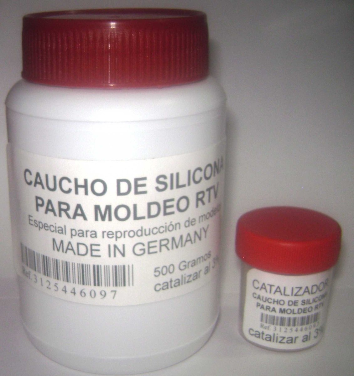 Caucho de silicona para moldes y reproducci n de modelos for Caucho de silicona