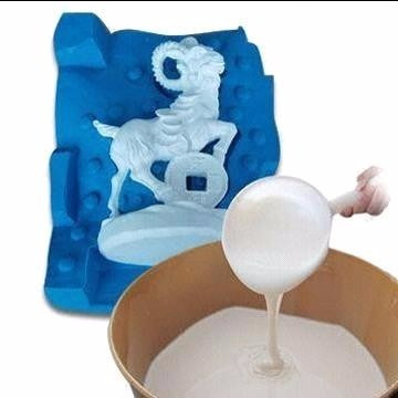 caucho de silicona para moldes y resinas