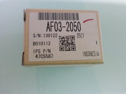 caucho separador papel ricoh af- 1075 original. af032050