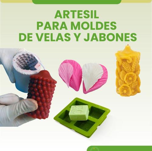 caucho silicona para moldes artesil
