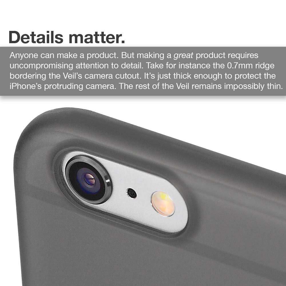 innovative design 0dadc bcc0c Caudabe: The Veil iPhone 6/6s (4.7) Premium Ultra Thin Funda