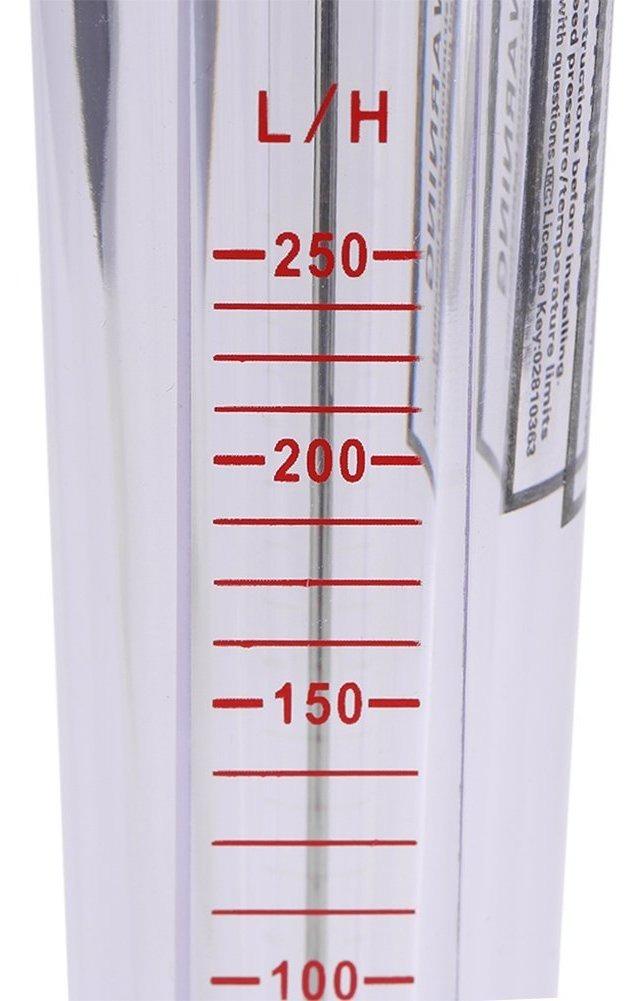 Tipo De Tubo Pl/ástico De Rot/ámetro De 25-250L H Medidor Instant/áneo De Flujo De Agua L/íquida