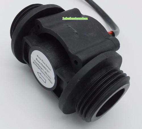 caudalimetro sensor de flujo liquidos 1 pulgada 1 a 60 l/min