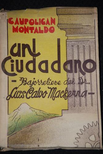 caupolican montaldo un ciudadano osorno 1948 poesia ilustrad