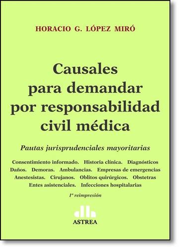 causales para demandar por responsabilidad civil médica: pa