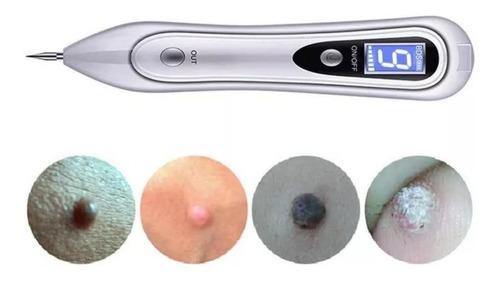 cauterio plasma pen removedor verrugas lunares tatuaje pecas con 50 repuestos finos y 3 gruesos