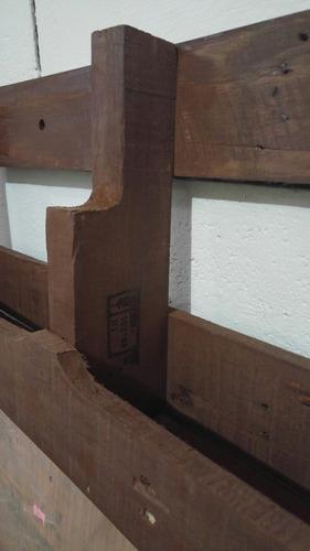 cava cantina portabotellas hecha de tarimas muebles pallets