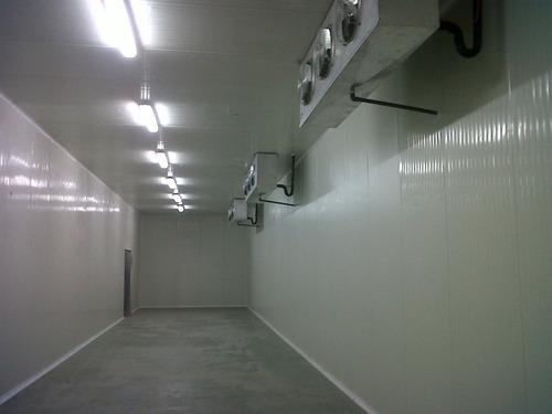 cava cuarto blanca de refrigeracion y congelación