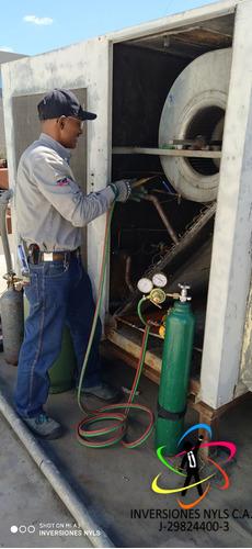 cava cuarto refrigeración aire acondicionado