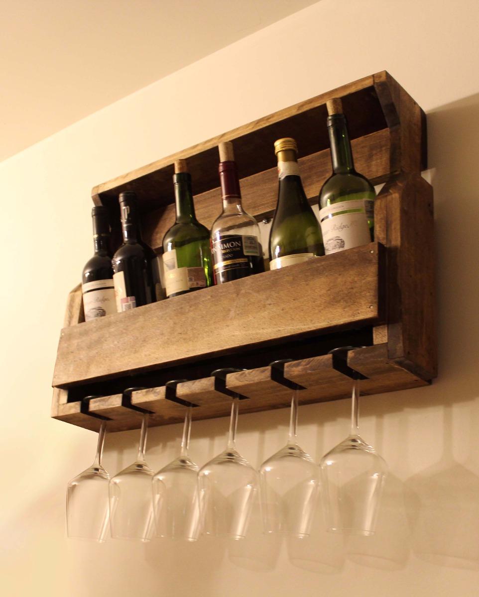 Muebles artesanales para vinos 20170731002101 for Muebles de pared