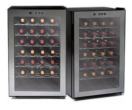 cava de vino 28 botellas termoelectrica wine collection wc-28 cuotas dmaker