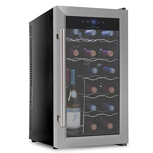 cava de vino digital 18 botellas refrigerador nutrichef