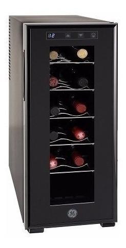 cava de vinos 12 botellas ge panel digital negro gw12xdbb