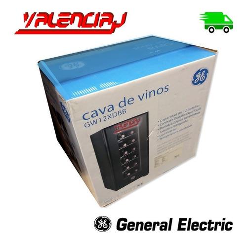 cava de vinos 12 botellas general electric