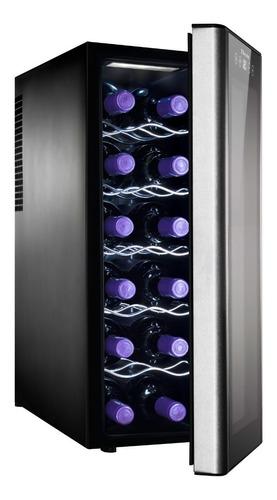 cava de vinos electrolux 12 botellas panel digital negro