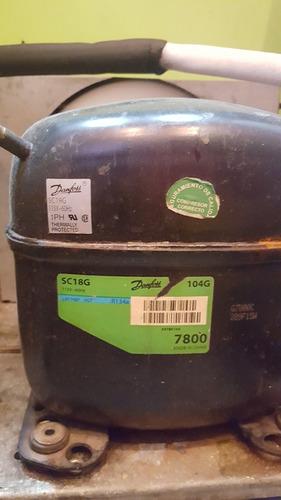 cava nevera refrigerador danfoss neverama 1/4 unidad motor